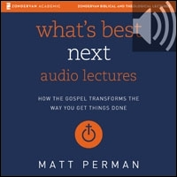What's Best Next: Audio Lectures: How the Gospel Transforms the Way You Get Things Done (audio)