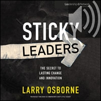 Sticky Leaders: The Secret to Lasting Change and Innovation (audio)
