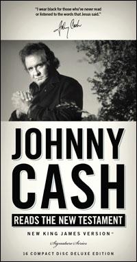 Johnny Cash Reading the New Testament Audio Bible - New King James Version | NKJV (audio)