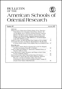Bulletin of the American Schools of Oriental Research, Number 307 (August 1997)