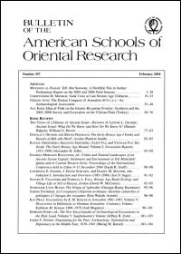 Bulletin of the American Schools of Oriental Research, Number 357 (February 2010)