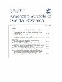 Bulletin of the American Schools of Oriental Research, Number 361 (February 2011)