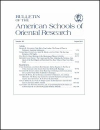 Bulletin of the American Schools of Oriental Research, Number 363 (August 2011)