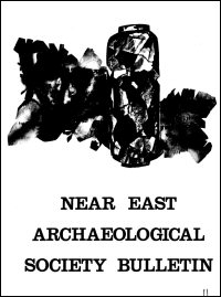 The Near East Archaeological Society Bulletin: New Series, No. 18, 1981