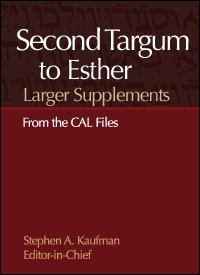 Larger Supplements to the Second Targum to Esther