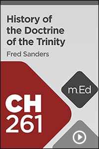 CH261 History of the Doctrine of the Trinity