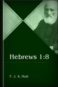 Hebrews 1:8