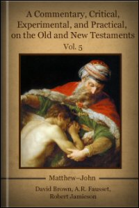 A Commentary, Critical, Experimental, and Practical, on the Old and New Testaments, Vol. V: Matthew–John