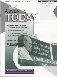 Adventist Today, Volume 1, Number 2 (July–August 1993)