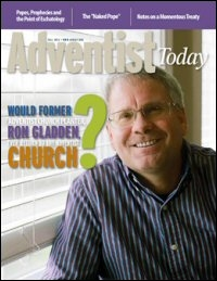 Adventist Today, Volume 21, Number 4 (Fall 2013)