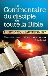 Le commentaire biblique du disciple