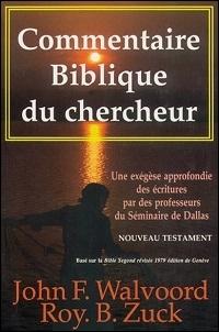 Commentaire biblique du chercheur, Nouveau Testament