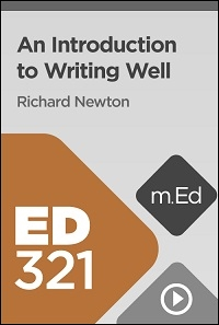 ED321 An Introduction to Writing Well