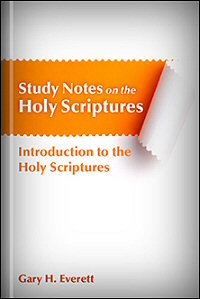 Introduction to the Holy Scriptures