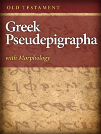 Old Testament Greek Pseudepigrapha with Morphology: Alternate Texts