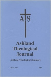 Ashland Theological Journal, Volume 20