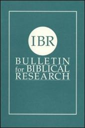 Bulletin for Biblical Research, Volume 3