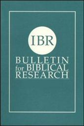 Bulletin for Biblical Research, Volume 6