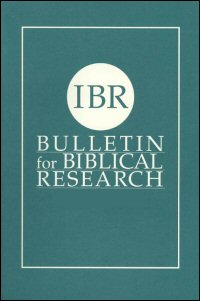 Bulletin for Biblical Research, Volume 13