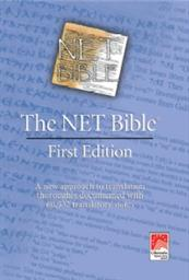 The NET Bible First Edition (Noteless)