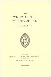 Westminster Theological Journal Volume 37