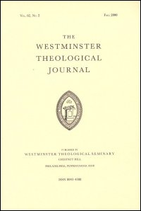 Westminster Theological Journal Volume 70