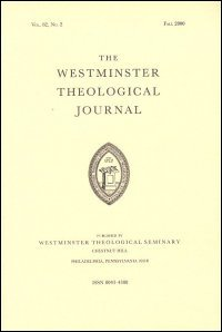 Westminster Theological Journal Volume 72