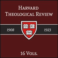 The Harvard Theological Review, Volume I, Nos. 1–4