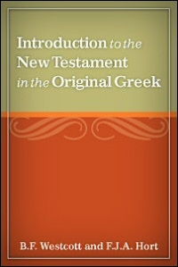 Introduction to the New Testament in the Original Greek: Appendix