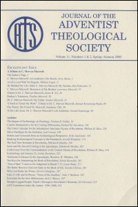 Journal of the Adventist Theological Society, Volume 11, Numbers 1 & 2, Spring–Autumn 2000