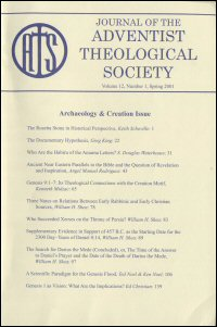 Journal of the Adventist Theological Society, Volume 12, Number 1, Spring 2001
