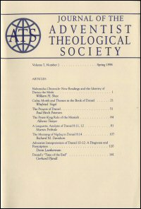 Journal of the Adventist Theological Society, Volume 7, Number 1, Spring 1996