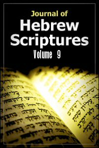 Journal of Hebrew Scriptures: Volume 9 (2009)