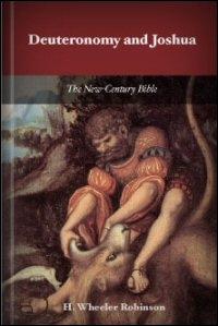 Deuteronomy and Joshua: Notes