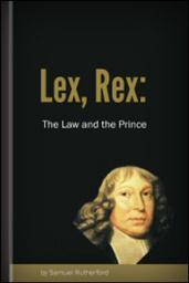 Lex, Rex, or the Law and the Prince