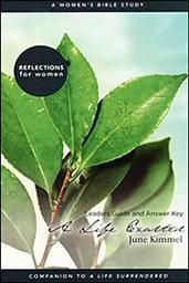 A Life Exalted: A Women's Bible Study (Leader's Guide and Answer Key)
