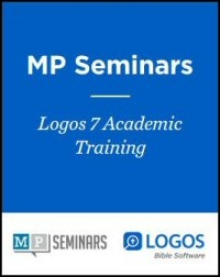 MP Seminars: Logos 7 Academic Training: Welcome