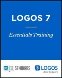 MP Seminars: Logos 7 Essentials: Welcome
