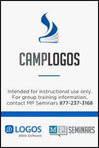 Camp Logos 1 (Logos 7)