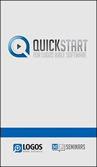 Logos 5: QuickStart for Logos Bible Software