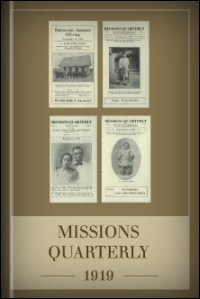 Missions Quarterly: 1919