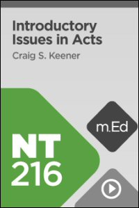 NT216 Introductory Issues in Acts