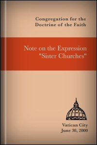 """Note on the Expression """"Sister Churches"""""""