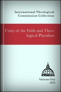 Unity of the Faith and Theological Pluralism