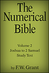 The Numerical Bible, Vol. 2: Joshua to 2 Samuel (Study Text)