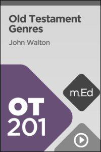 OT201 Old Testament Genres