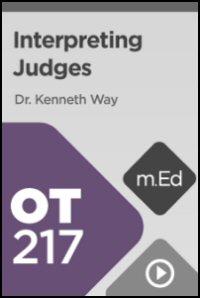 OT217 Interpreting Judges