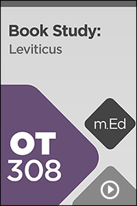 OT308 Book Study: Leviticus