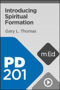 PD201 Introducing Spiritual Formation