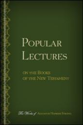 Popular Lectures on the Books of the New Testament